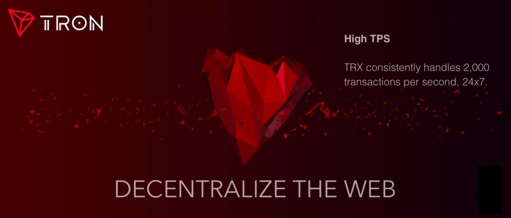 TRON (TRX) - новый претендент на криптовалютный Трон
