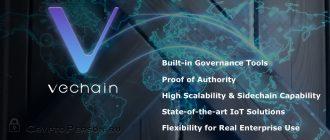 VeChain (VEN) – применение технологии блокчейн для создание экосистемы в области логистики по управлению данными о продуктах и товарах в цепях поставок