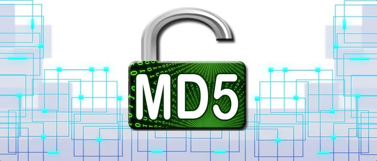 Шифрование MD5